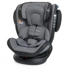 Автокресло EL Camino Evolution 360 ME 1045 Premium Gray