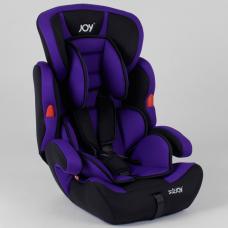 Автокресло Joy NB 9777 Черно-фиолетовый
