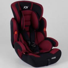 Автокресло Joy NB 8555 Черно-бордовый