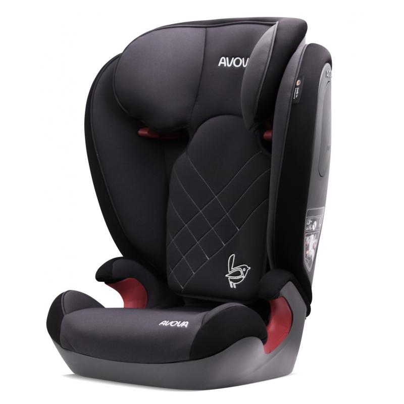 Автокресло Avova Star i-Size Grey & Black