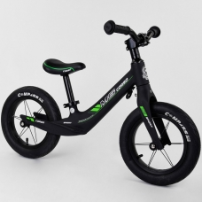 Велобег с алюминиевым выносом руля Corso Зеленый (55960)
