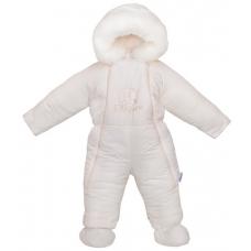 Детский зимний комбинезон Flavien (3033/01) Молочный
