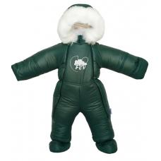 Детский зимний комбинезон Flavien (3033/03) Зеленый