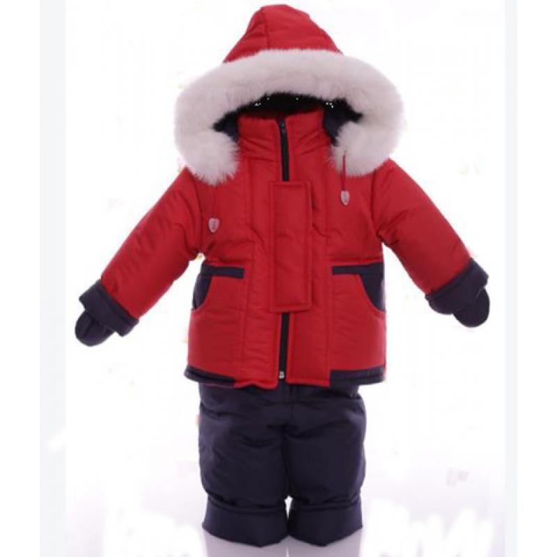 Детский зимний комбинезон Babykroha Малютка Красный