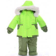 Детский зимний комбинезон Babykroha Малютка Зеленый