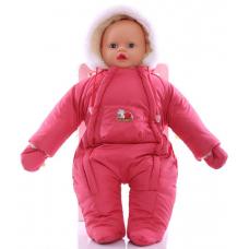 Детский зимний комбинезон Babykroha Человечек (однотонный) Ко