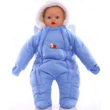 Детский зимний комбинезон Babykroha Человечек (однотонный) Го