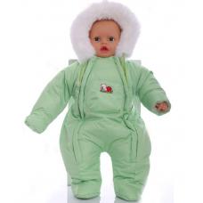 Детский зимний комбинезон Babykroha Человечек (однотонный) Са