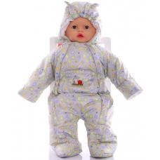 Детский весенний комбинезон Babykroha Человечек (цветной) Сер