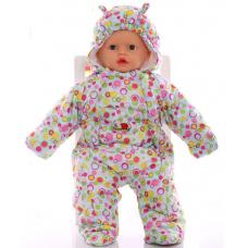 Детский весенний комбинезон Babykroha Человечек (цветной) Гол
