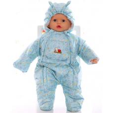 Детский весенний комбинезон Babykroha Человечек (цветной) Мят