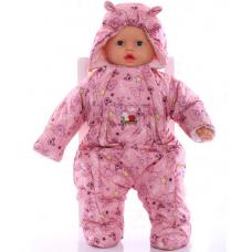 Детский весенний комбинезон Babykroha Человечек (цветной) Роз