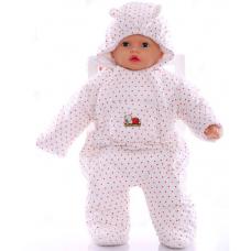 Детский весенний комбинезон Babykroha Человечек (цветной) Бел