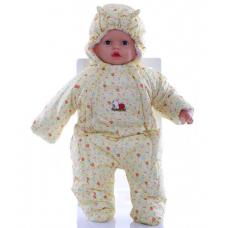 Детский весенний комбинезон Babykroha Человечек (цветной) Жел