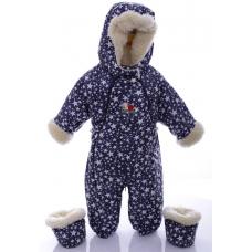 Детский зимний комбинезон Babykroha Трансформер (цветной)  Си