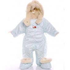 Детский зимний комбинезон Babykroha Трансформер (цветной) Бел
