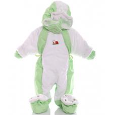 Детский весенний комбинезон Babykroha Трансформер (однотонный