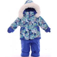 Детский зимний комбинезон Babykroha Малютка Синяя галактика