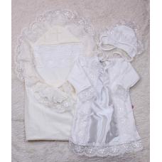 Набор для крестин Brilliant Baby Любовь+Даниила Айвори