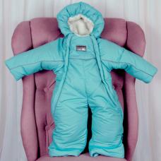 Зимний комбинезон-трансформер Brilliant Baby North Мятный
