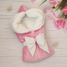 Конверт-одеяло на выписку ТМ Elliz Dream Розовый