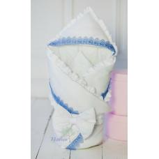 Конверт-одеяло для новорожденного Flavien Голубой (1006/01)