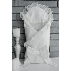 Конверт-одеяло для новорожденного на меху Flavien Бежевый (10