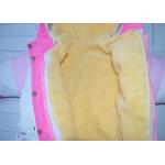 Зимний комбинезон-трансформер с отстегивающимся мехом Киндер Funny Розовый