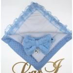 Комплект на выписку из 5-ти предметов Lari Сказка Голубой