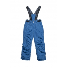 Полукомбинезон со шлевками для мальчика Модный карапуз Синий
