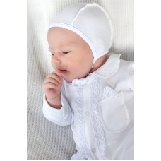 Комплект на выписку для мальчика Модный карапуз Белый (03-006