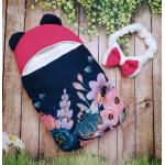 Конверт спальник для виписки ШкодаМода Beautiful flowers