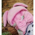 Конверт спальник для виписки ШкодаМода Bunnie pink