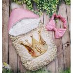 Конверт спальник для виписки ШкодаМода Little princess