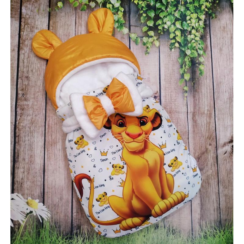 Конверт спальник для виписки ШкодаМода Simba