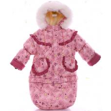 Зимний комбинезон 3 в 1 Babykroha Тройка Розовый baby