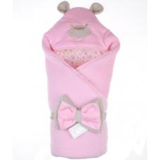 Весенний конверт-одеяло Lari Панда Лапки Розовый