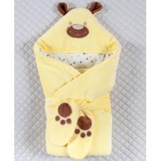 Весенний конверт-одеяло Lari Панда Желтый