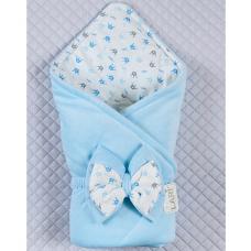 Весенний конверт-одеяло Lari Prince Голубой