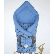 Конверт-одеяло Lari Звездопад Голубой
