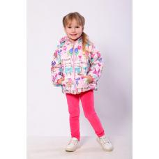 Куртка-жилет для девочки Модный карапуз Animals Розовый (03-0