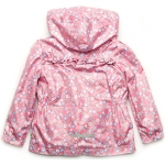 Детская ветровка для девочки Модный Карапуз Розовый (03-00696-2)