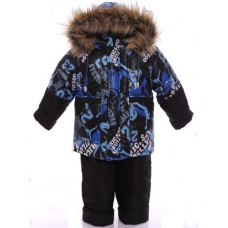Детский зимний костюм-комбинезон Babykroha Классика Синий Chi