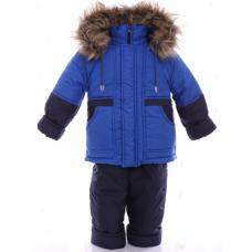 Детский зимний костюм-комбинезон Babykroha Классика Электрик