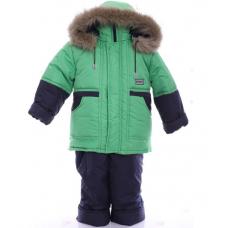 Детский зимний костюм-комбинезон Babykroha Классика Зеленый