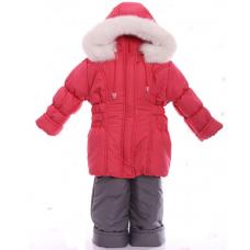 Детский зимний костюм-комбинезон для девочек Babykroha Класси