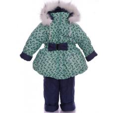 Детский зимний комбинезон для девочек Babykroha Колокольчик М