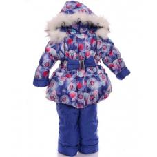 Детский зимний комбинезон для девочек Babykroha Колокольчик С