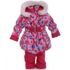 Детский зимний комбинезон для девочек Babykroha Колокольчик Р