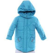 Детская зимняя куртка Babykroha Евро (однотонная) Бирюзовый
